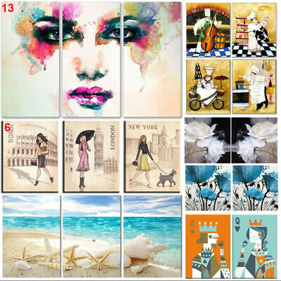 No Framed Modern Abstract Print Flower Home Wall Art Decor Canvas Oil Pa GBY