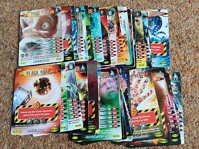 Job Lot of 39 Doctor Who Battles in Time ANNIHILATOR Cards Dr ALL DIFFERENT BBC
