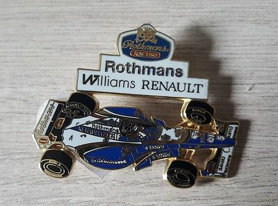 Pin Series Badge Collection F1 Williams Fw17