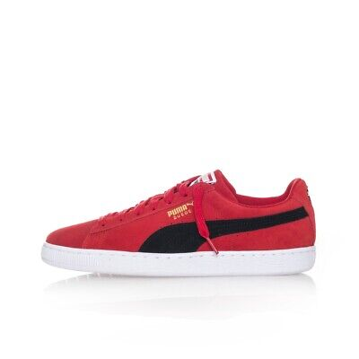 c004230a66f Chaussures Homme Puma Suede Classic 365347.30 Sneakers Tribes Rouge