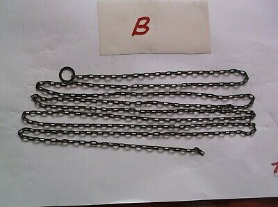 A Steel Chain From An Old Cuckoo Clock 62 Lincs To The Ft 71 Inch Long Ref B