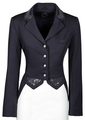 Harry's Horse Damen Turniersakko Turnierjacket Montpellier Pailletten navy