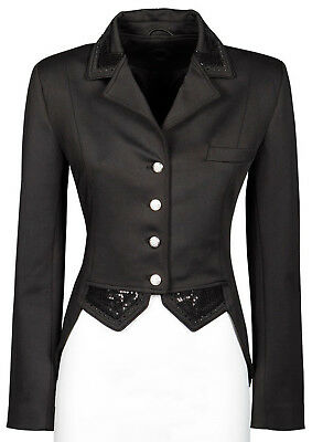 Harry's Horse Damen Turniersakko Turnierjacket Montpellier Pailletten schwarz