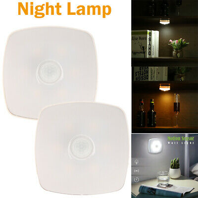 0.6W Wall Mount Motion Sensor Control LED Night Light Lamp for Cabinet Corridor