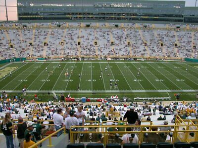 Green Bay Packers 2019 Partial Season Tickets Outdoor Club Seats 35 Yard Line