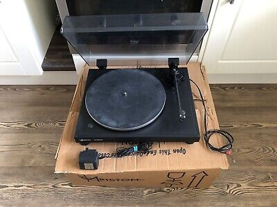 Ariston Q Deck Vinyl Record Turntable / Player With Ortofon 510 Cartridge,Boxed