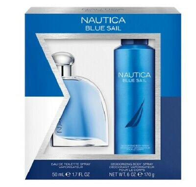 Nautica Blue Sail Men's Cologne EAU DE TOILETTE Gift Set