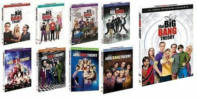 The Big Bang Theory - Serie TV - Cofanetti Singoli Stag. Dalla 1 Alla 9 - 28 Dvd