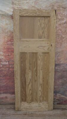 X1o3/01 (29 3/4 x 76) 1930's 1 over 3 old reclaimed pine door