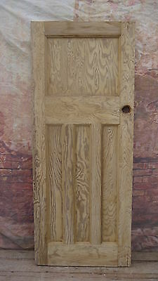 X1o3/02 (32 x 78 3/4) 1930's 1 over 3 old reclaimed pine door