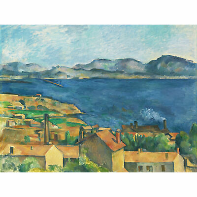 Paul Cezanne The Bay Of Marseilles Seen From Lestaque Extra Large Art Poster