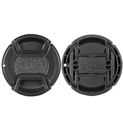 Center Pinch Snap-on 40.5mm Lens Cap Cover Keeper Holder for Canon Nikon So A5M9