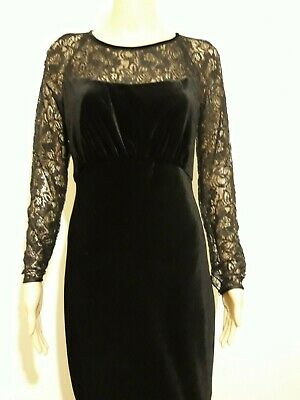 Ted Baker Iriah Black Lace Fitted Party Occasion Dress Bnwt Uk 10 Ted 2 Usa 6