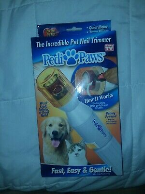 Pedi Paws Nail Trimmer Pet Claw Nail Trimmer Fast Easy Gentle Trimmer