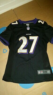 Hot RAY RICE 27 Baltimore Ravens NFL Nike On Field Jersey Mens Medium  for cheap