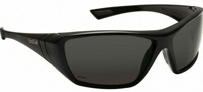 Brand New Genuine BOLLE 'Hustler' Polarised Black Lens Sunglasses