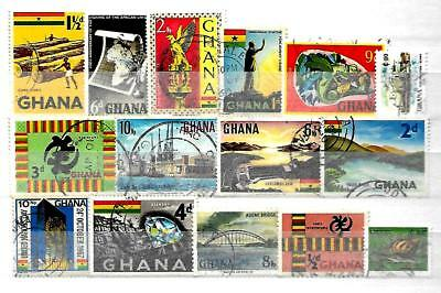 * GHANA INTERESTING SOME OLD STAMP COLLECTION LOT No 10110118 *