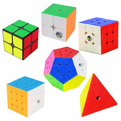 YuXin Magic Cube 2x2 3x3 4x4 ABS Speed Twist Smooth Cube Rubiks Rubix Puzzle Toy