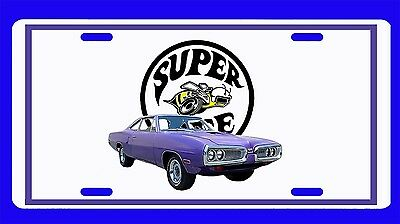 NEW 1970 Dodge Superbee License Plate!! FREE SHIPPING!!