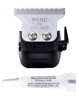 Wahl Replacement Double Wide T-Blade Set For Cordless Detailer Trimmer 2227-016