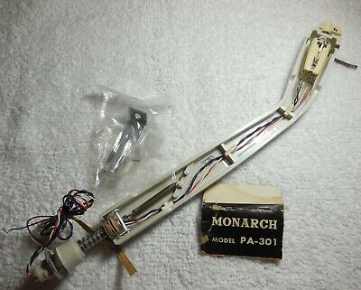 Monarch PA-301 Tonearm With Stereo Crystal Cartridge Japan