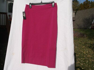 Clothing, Shoes & Accessories Skirts Worthington Woman Adventure Pink Straight Skirt Sz 4 Nwt Ret 44 Gold Zip Slt Drt