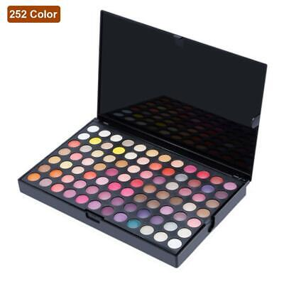 Full 252 Color Eye Shadow Makeup Cosmetic Shimmer Matte Eyeshadow Palette JL