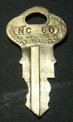 Original Northwestern NC60 Vending Key for Lock & Barrel Lock Peanut Gum ball