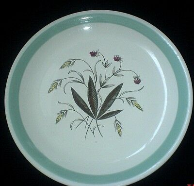 ALFRED MEAKIN Hedgerow Crown Goldendale 9 7/8 inch Plate c1950