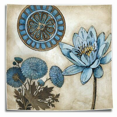 Chrysanthemum Blue HD Canvas Print Painting Home Decor room Wall Art Picture