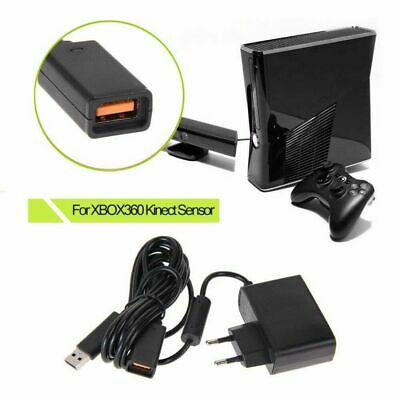 For Microsoft Xbox 360 Host Kinect Sensor Mains Power Supply Adapter New 2019
