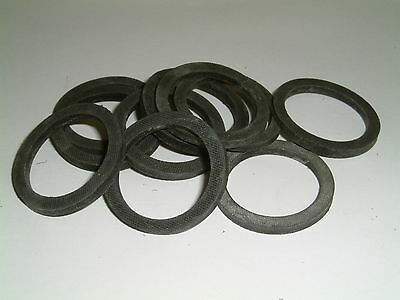 20 Rubber Washers 31.5mm O//D X 26.5mm I//D X 3mm Thk