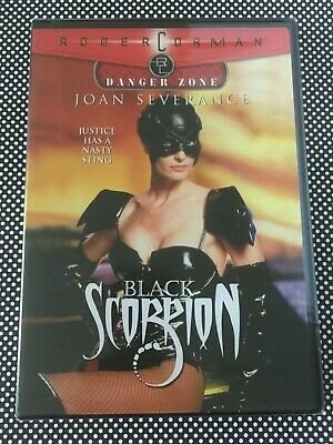 BLACK SCORPION DVD Joan Severance Roger Corman Rick Rossovich Sealed Brand NEW