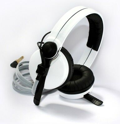 Custom Cans High Gloss White sennheiser HD25 DJ Headphones with 2yr warranty
