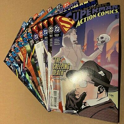 DC Comics Superman in Action Comics 2004 Monthly Comic Series Full 12 Issue Set