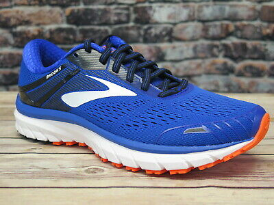 762499f1a4344 MEN S BROOKS ADRENALINE GTS 18 Grey Blue Black Running -  74.95 ...