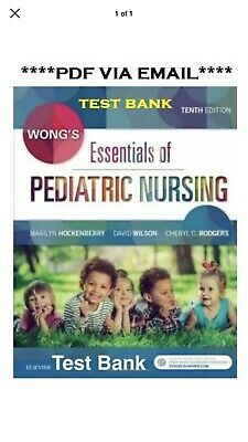 (PDF) TESTBANK Wong's Essentials of Pediatric Nursing *INSTANT DELIVERY*