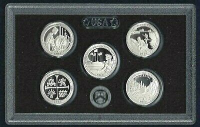 2019 US MINT 5 COIN AMERICA the BEAUTIFUL 90% SILVER PROOF QUARTER SET