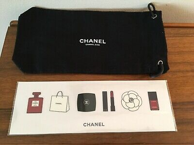 CHANEL VIP Gift New 2019 No.5, Cosmetic Makeup Sticker NEW & RARE Collectible!