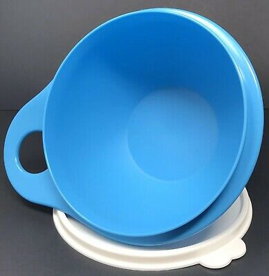Tupperware Thatsa Extra Mini Bowl 2 1/2 Cup Mixing Container Blue #6809 New