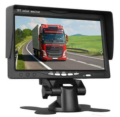 7'' inch TFT LCD Color Screen Input Car Rear View Camera DVD VCR Monitor