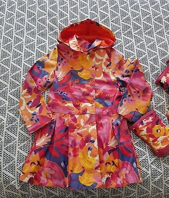 Catamini Designer Girls Spring Summer Rain Coat Age 6