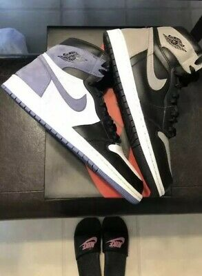 005c0541e71cc7 NIKE AIR JORDAN 1 High OG Retro Blue Moon 555088-115 SIZE 14 With ...