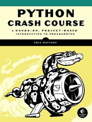 (PDF) Python Crash Course: A Hands-On, Project-Based Introduction to Programming
