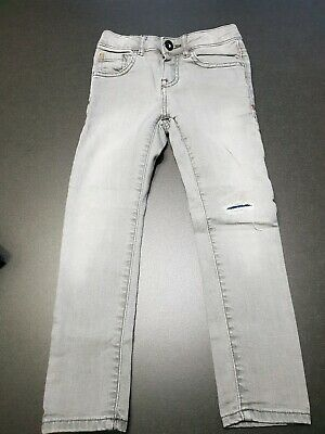 Zara Boys Grey Denim Jeans Size 6
