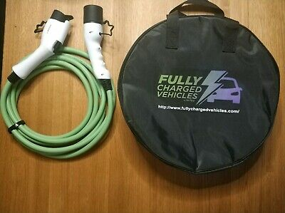 Mitsubishi Outlander Phev 10M 32A charging cable, up to 7.5 kwh. FAST CHARGING.