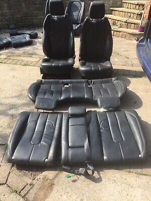 LAND ROVER / RANGE ROVER EVOQUE 2016 LEATHER Two Front And Rear Seats