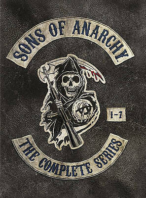 Sons of Anarchy: The Complete Series (DVD, 2015) Seasons 1-7 1234567 (30-Disc)