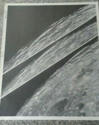 Vintage 1960 Poster Of The Moons Surface From The Photographic Lunar Atlas