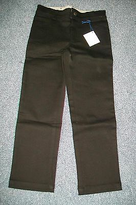 Anais & I-boys black denim stretch trousers.8y.BNWT